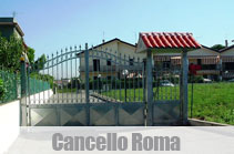 cancello roma