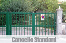 cancello standard